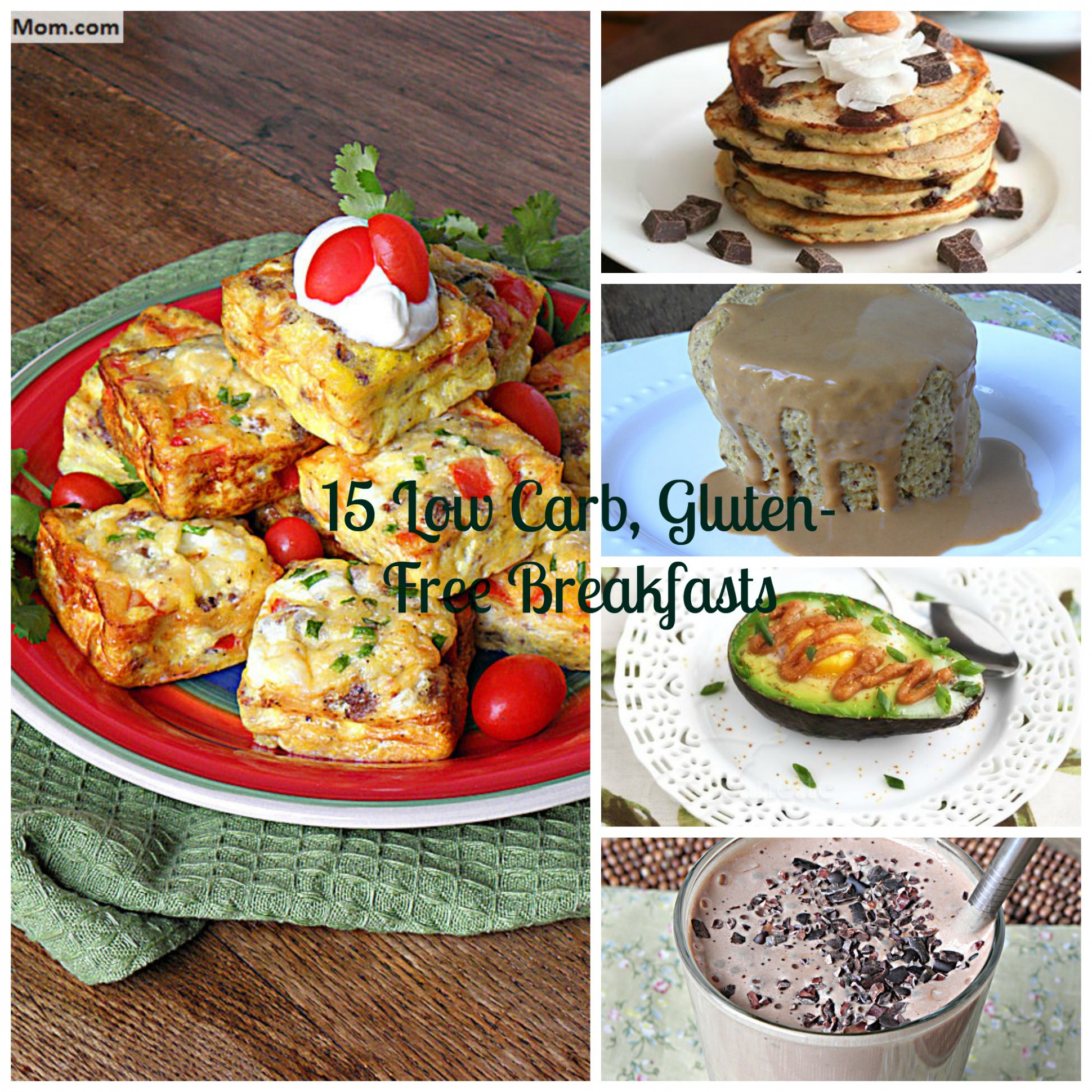 15 Gluten Free, Low Carb & Diabetic Friendly Breakfast Recipes