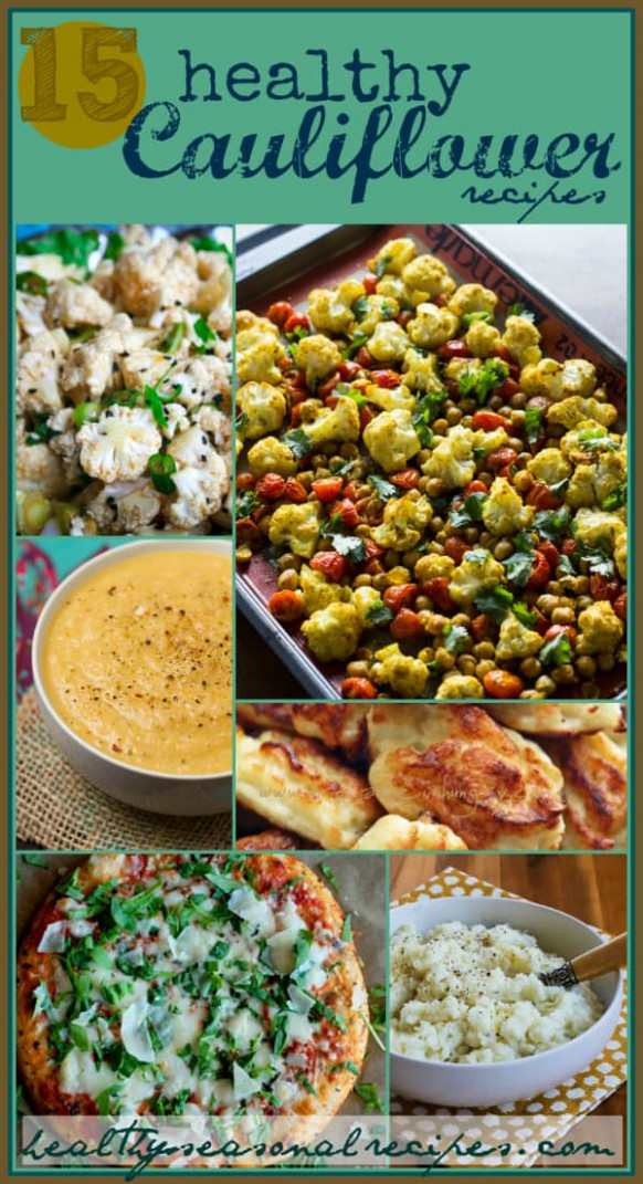 15 healthy cauliflower recipes - Healthy Seasonal Recipes