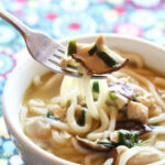 15 Minute Chicken Mushroom Udon Noodle Soup | The Kitchen …