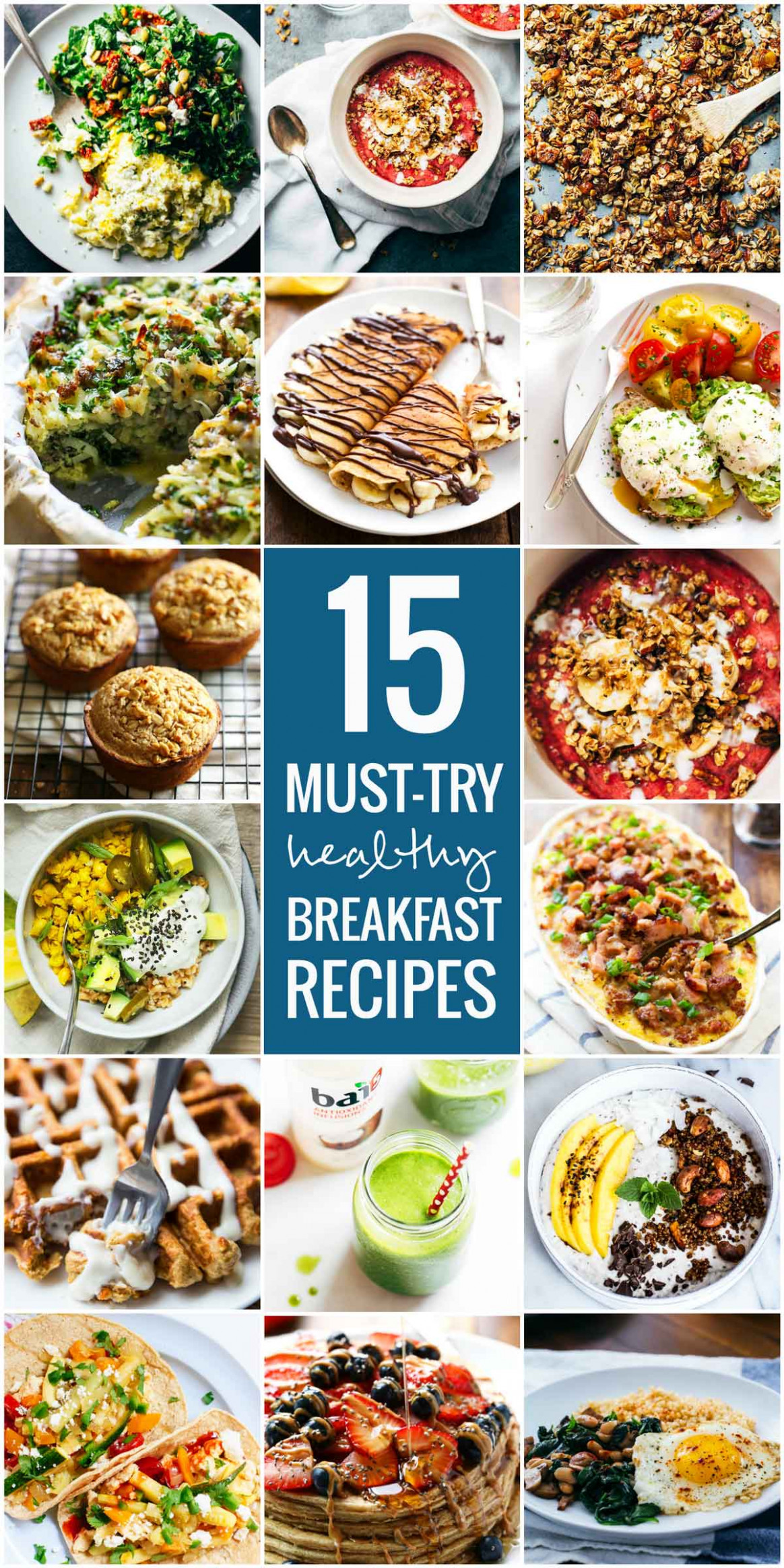 15 Must-Try Healthy Breakfast Recipes - Pinch of Yum