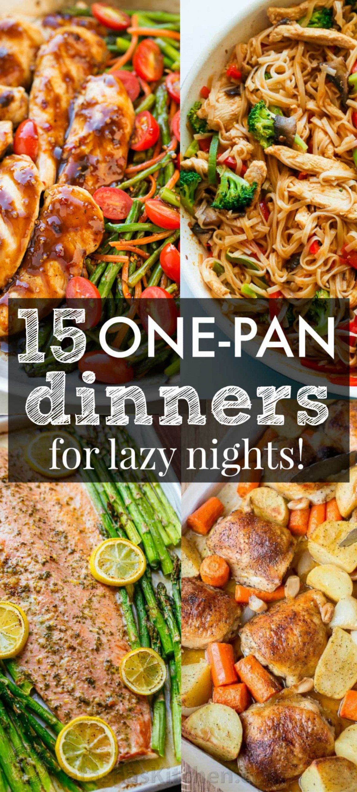 15 One Pan Recipes to Get You Excited for Dinner ...