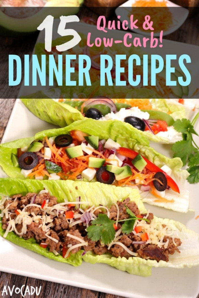15 Quick, Low-Carb Dinner Recipes | Avocadu