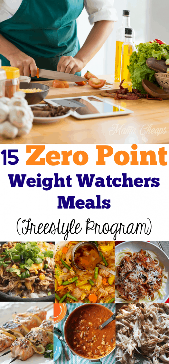 15 Zero Point Weight Watchers Meals (Freestyle Program ...