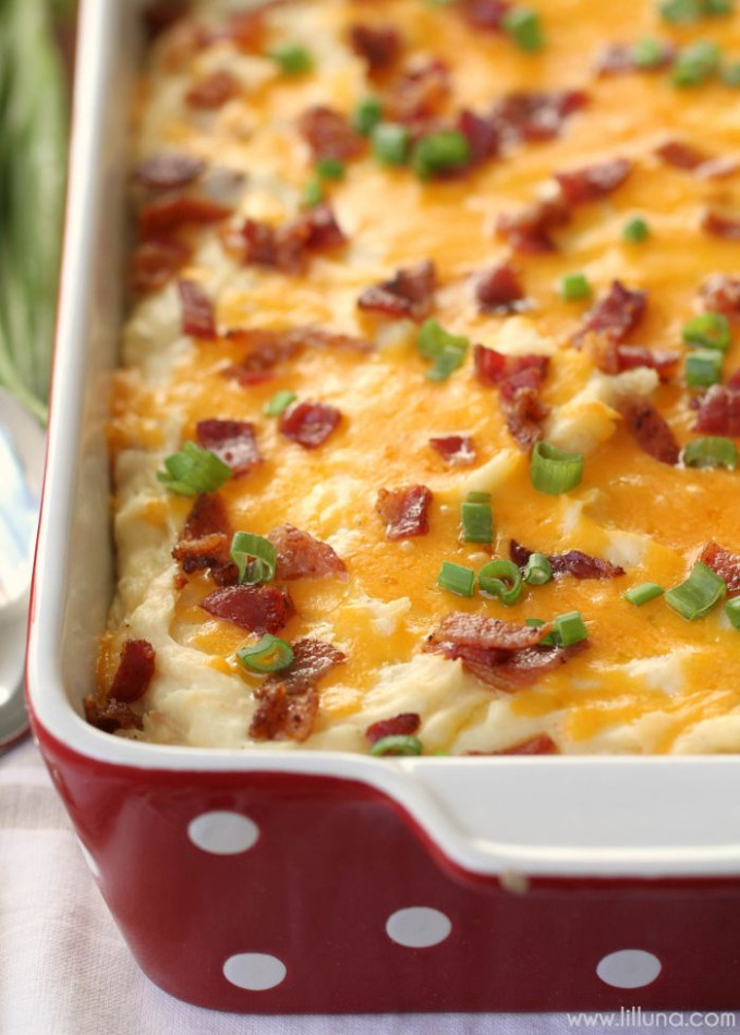 17 Best ideas about Cheesy Mashed Potatoes on Pinterest ...