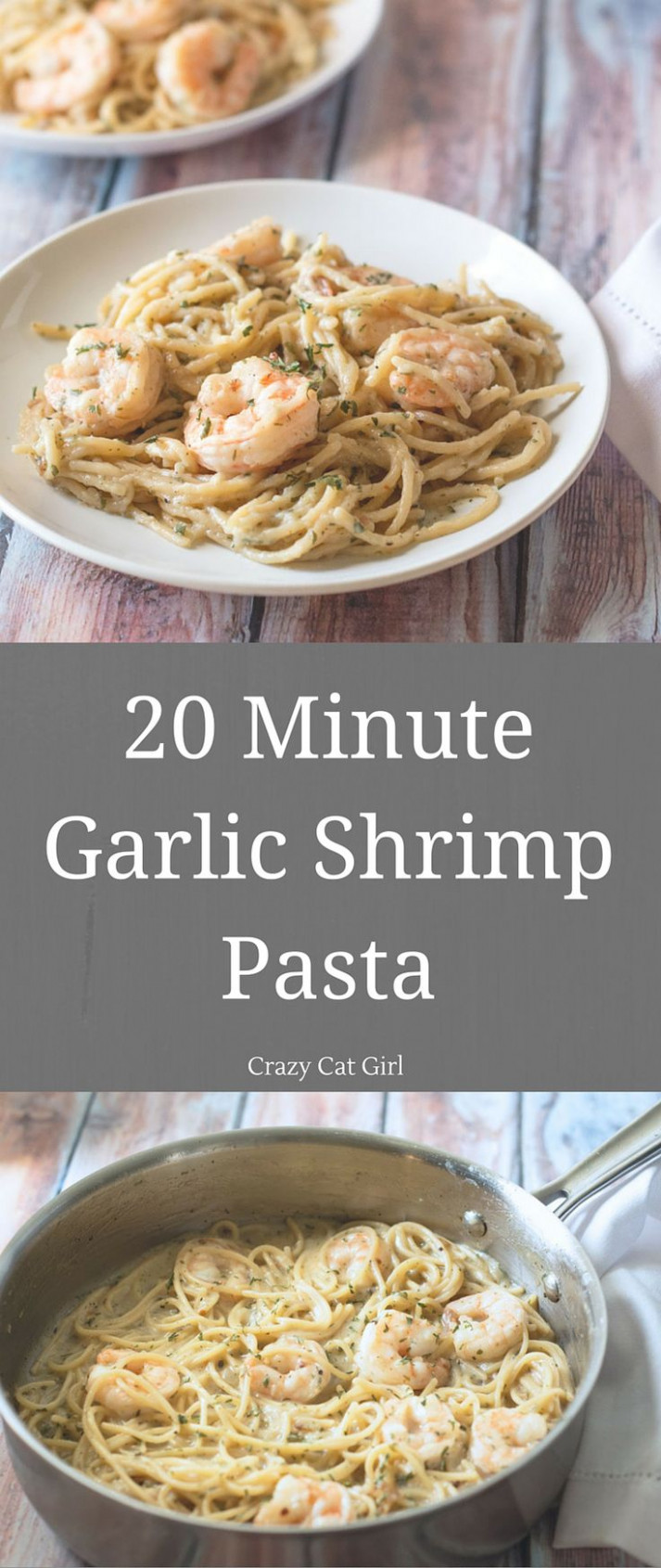17 Best ideas about Garlic Shrimp Pasta on Pinterest ...