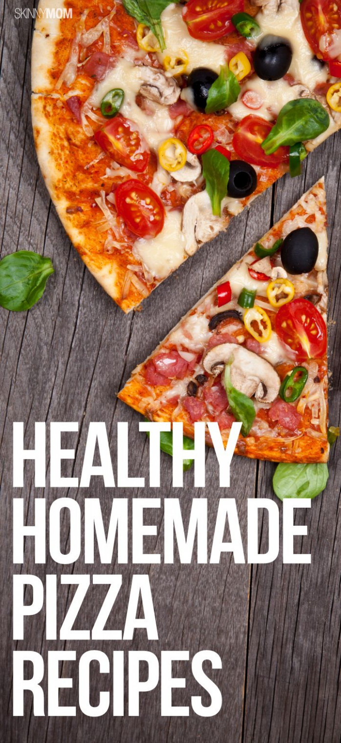 17 Best ideas about Healthy Homemade Pizza on Pinterest ...