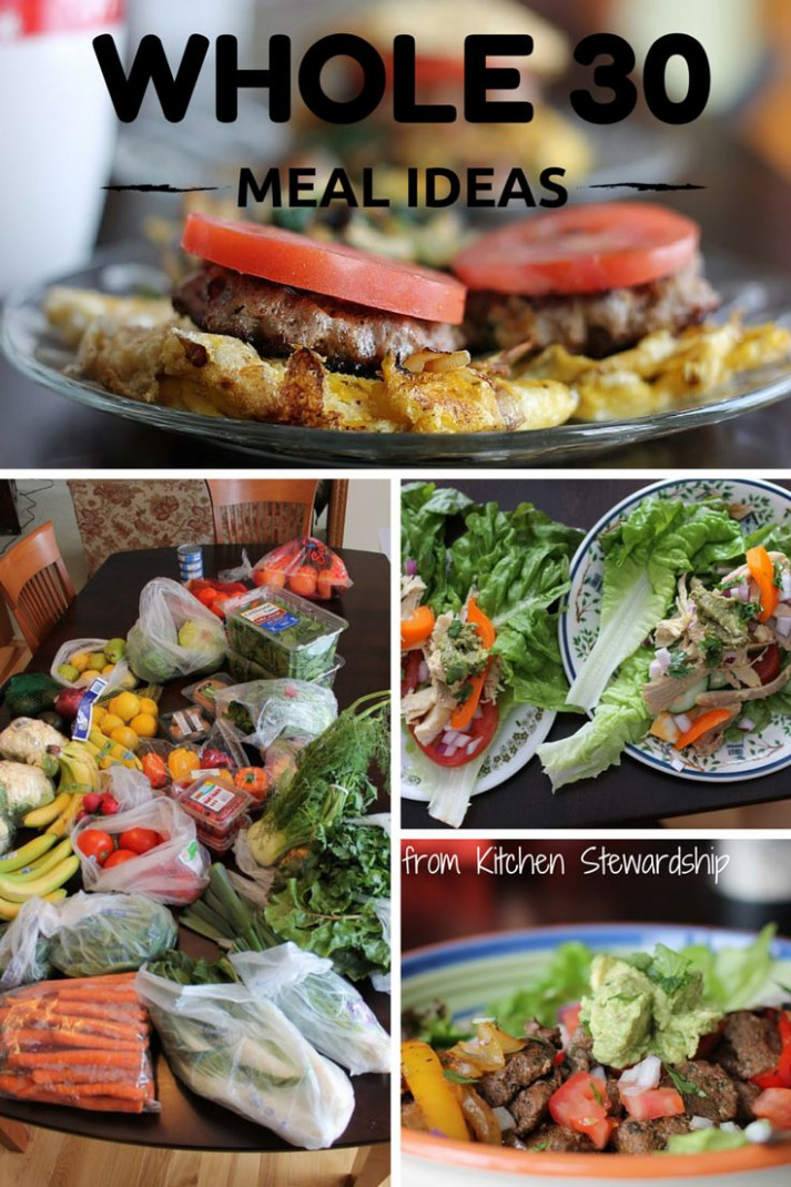 17 Best ideas about Whole 30 Meal Plan on Pinterest ...