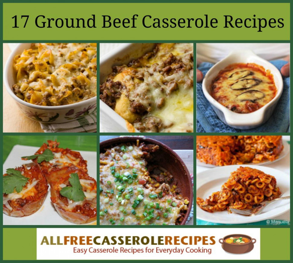 17 Flavorful Ground Beef Casserole Recipes …