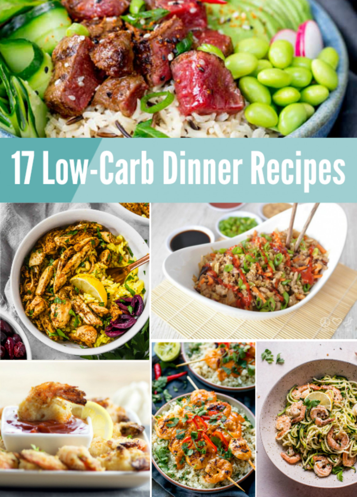 17 Low-Carb Dinner Recipes from MamaMommyMom