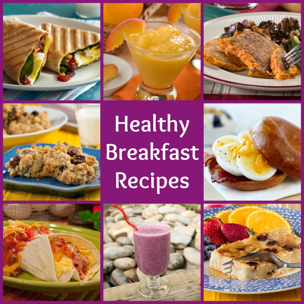 18 Healthy Breakfast Recipes to Start Your Day Out Right ...