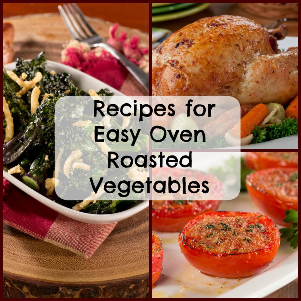 18 Recipes for Easy Oven Roasted Vegetables | MrFood