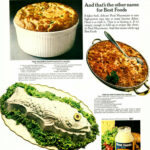 1972 Food Ad, Best Foods Real Mayonnaise & Tuna, 3 Thrifty Recipes
