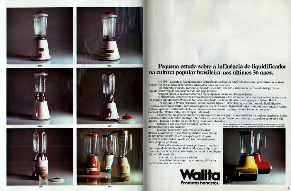 1974 Ad – Philips / Walita GTM Blender