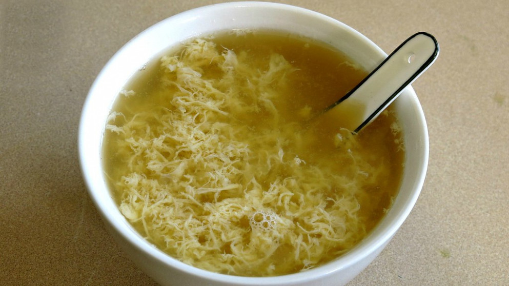 2 Ingredient Egg Drop Soup For College Students
