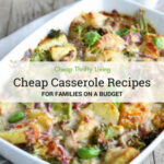 20 Cheap Casserole Recipes For Families On A Budget …