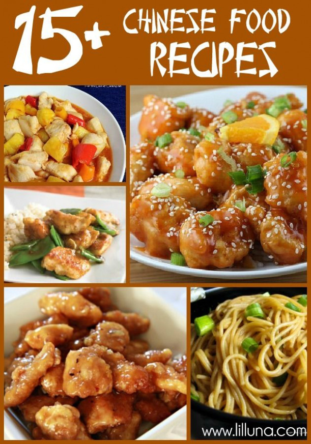 20+ Chinese Food Recipes | I Dinner Recipes | Food ...
