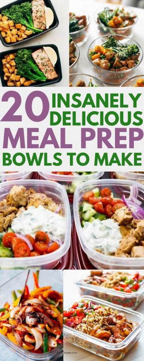 20 Delicious Dinner Recipes To Meal Prep For The Week …