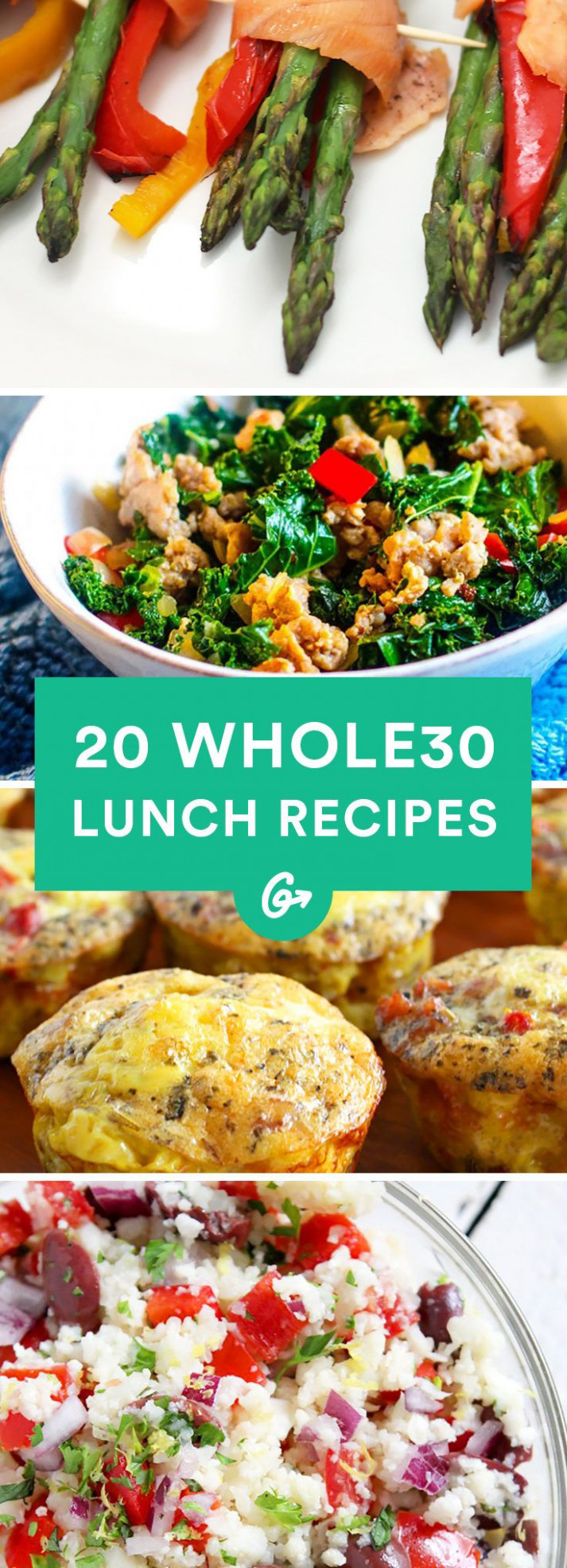 20 Easy and Tasty Whole30 Lunch Recipes   Paleo is the way ...