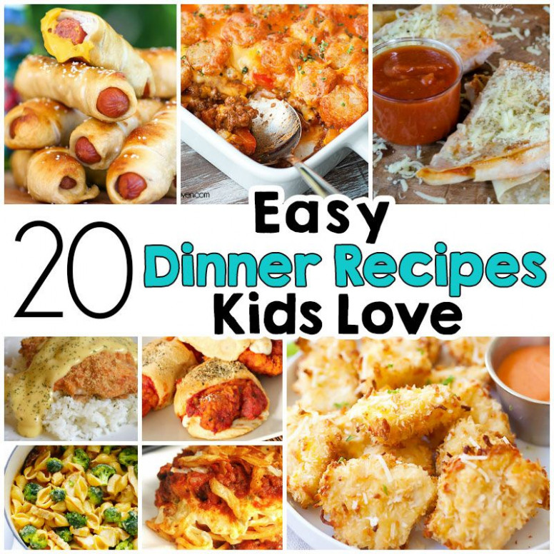 20 Easy Dinner Recipes That Kids Love | Recipes | Meals ...