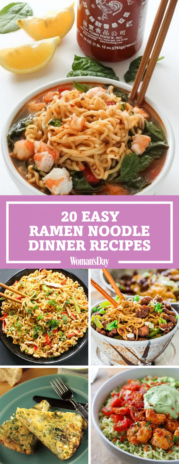 20 Easy Ramen Noodle Recipes - Best Recipes With Ramen Noodles