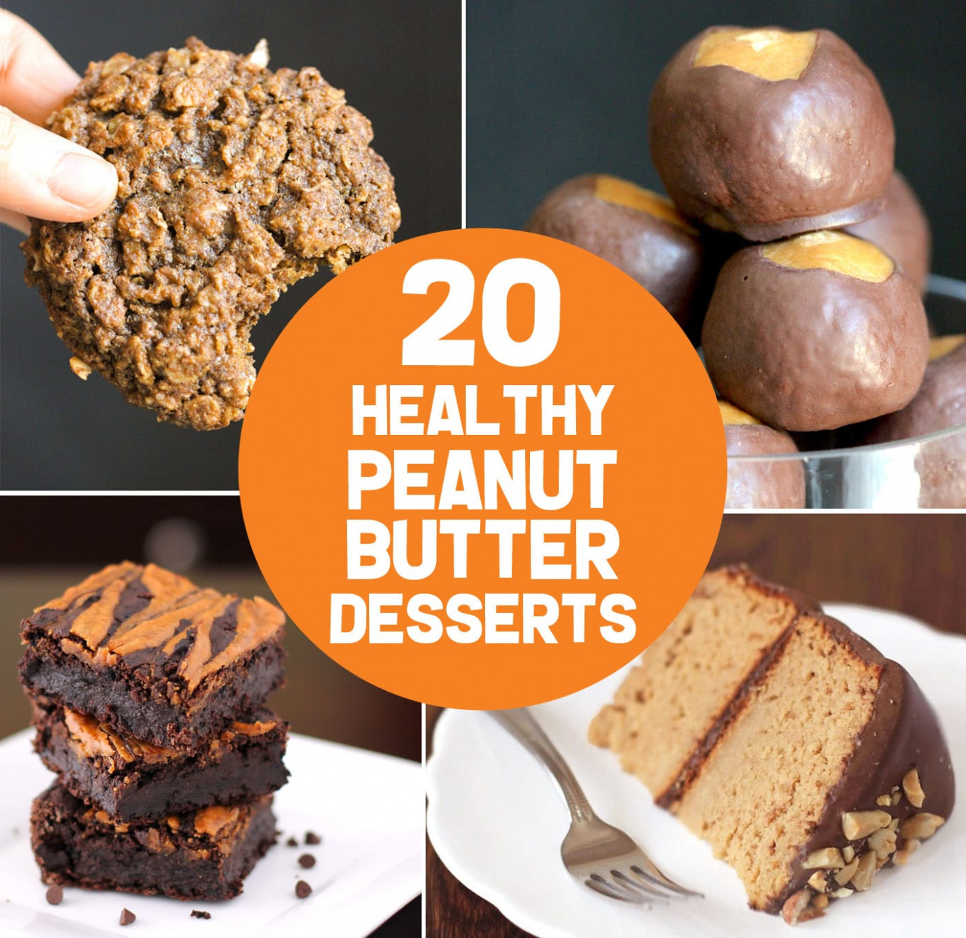 20 Healthy Peanut Butter Dessert Recipes | gluten free ...