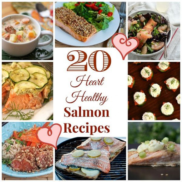 20 Heart-Healthy Salmon Recipes | Heart healthy recipes ...