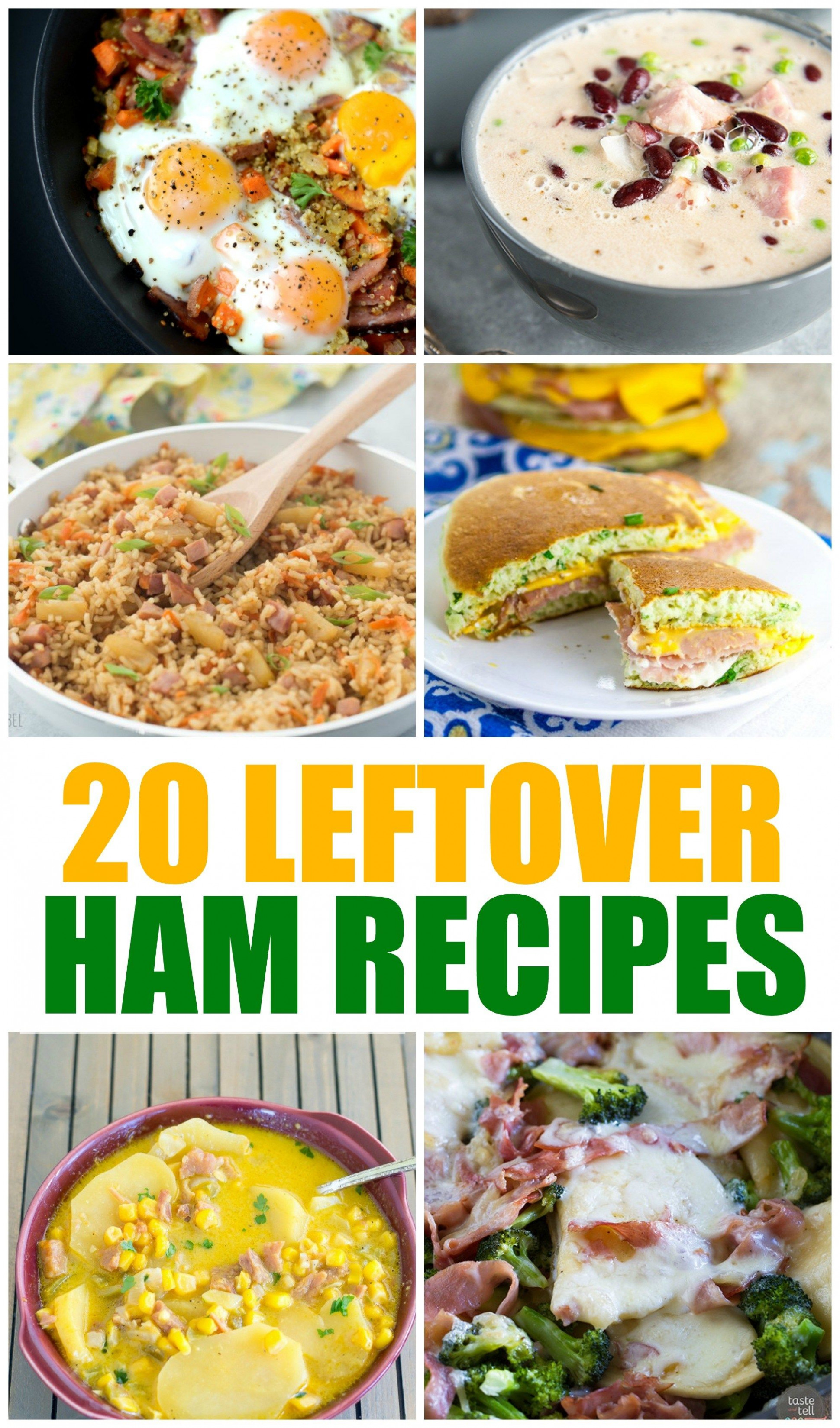 20 Leftover Ham Recipes | Momma Lew | Pinterest | Leftover ...
