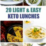 20 Light And Easy Keto Lunches – Delicious Keto Lunch Ideas
