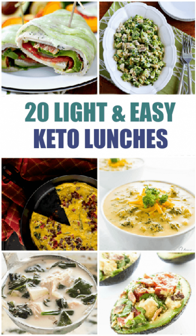 20 Light and Easy Keto Lunches - Delicious Keto Lunch Ideas
