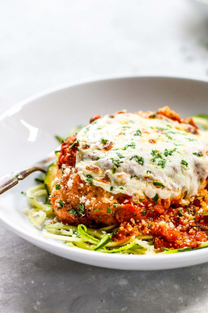 20 Minute Healthy Chicken Parmesan | Recipe | Sauces ...