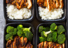 20 Minute Meal Prep Chicken, Rice and Broccoli | Gimme ...