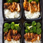 20 Minute Meal Prep Chicken, Rice And Broccoli | Gimme …