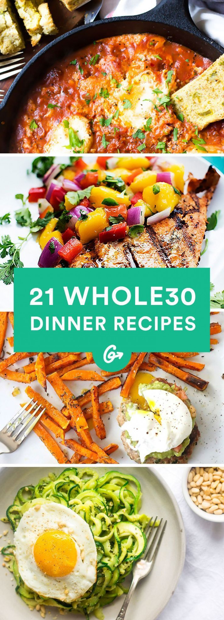 21 Easy and Delicious Whole30 Dinner Recipes | Whole 30 ...