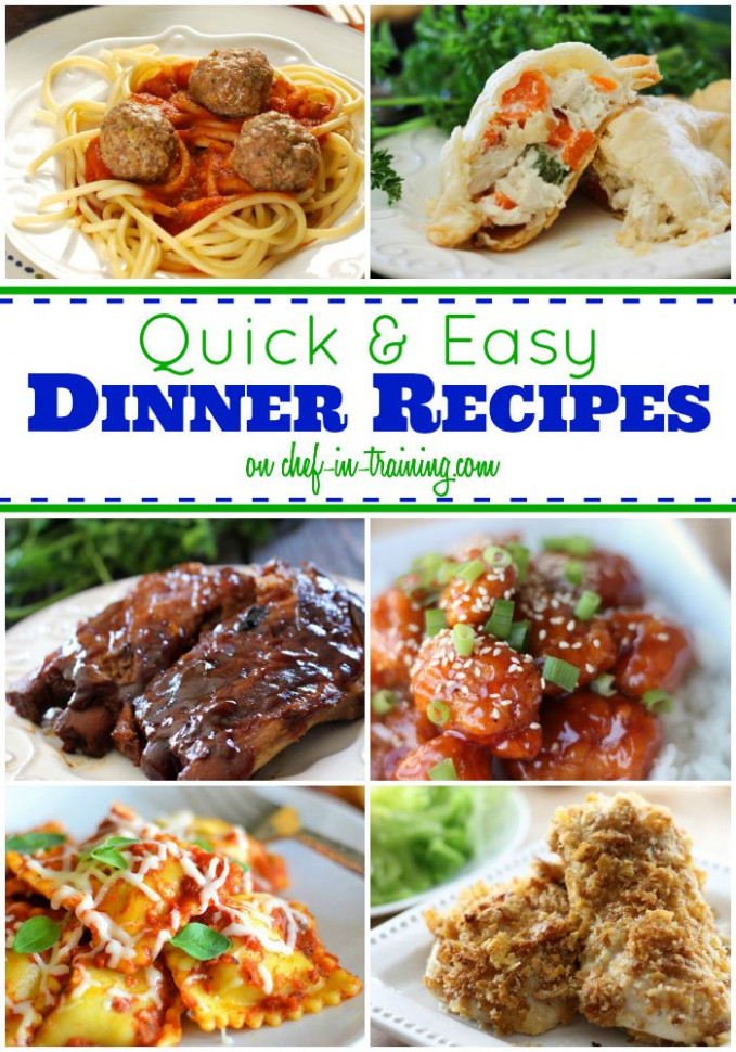 22 best images about Quick Dinner Ideas on Pinterest ...