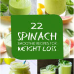 22 Best Spinach Smoothie Recipes For Weight Loss | Fruit …