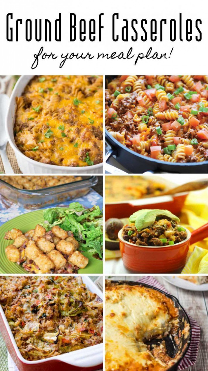 22 Easy Ground Beef Casserole Recipes for Budget Friendly ...