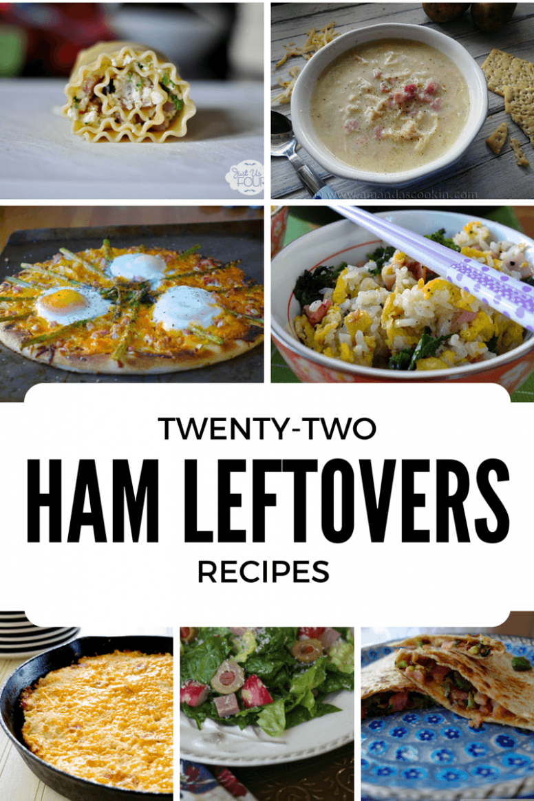 22 Ham Leftovers Recipes www.just2sisters.com | Midlife ...