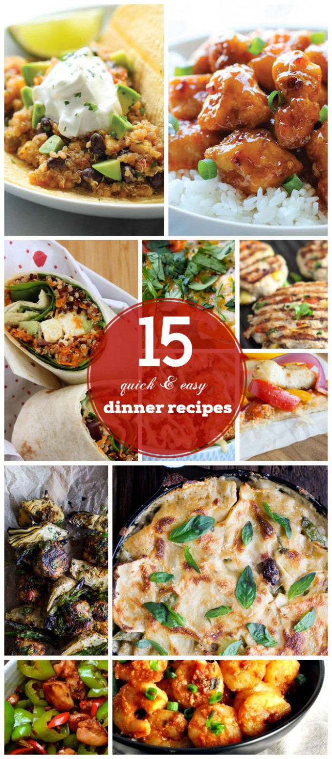 22 Quick & Easy Dinner Recipes for Family | Healthy ...