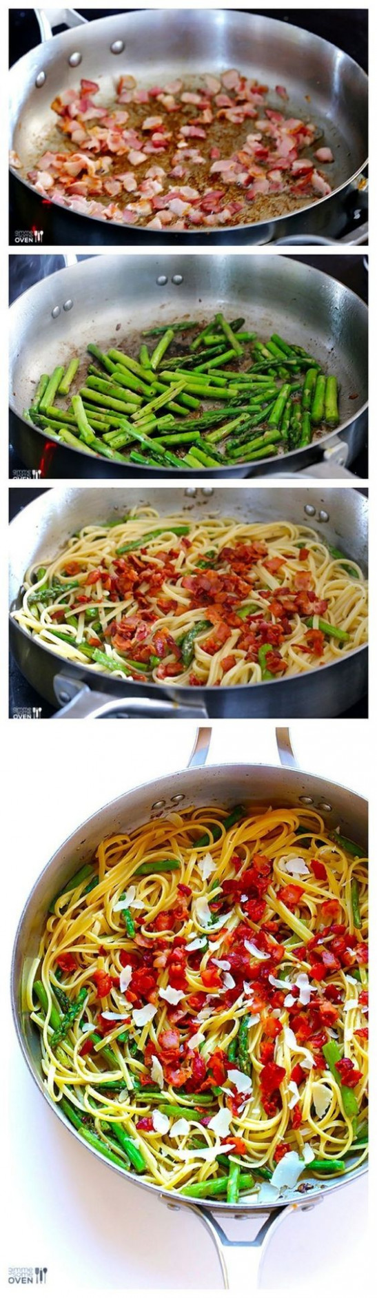 23 Easy Five-Ingredient Dinner Recipes | Asparagus pasta ...