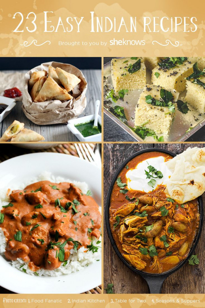 23 Easy Indian Recipes to Broaden Your Indian Food ...