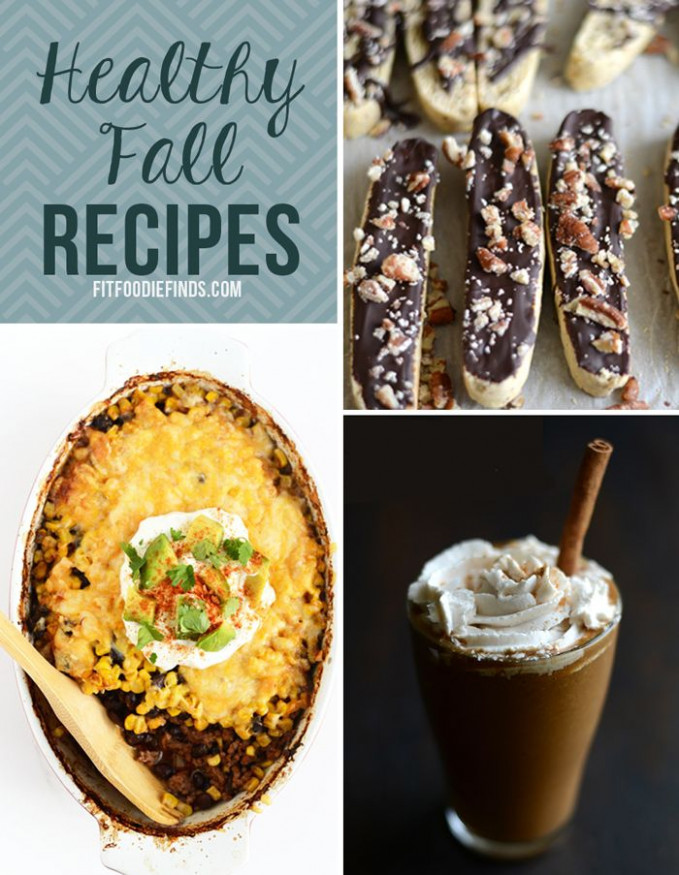 23 Healthy Recipes for Fall | Healthy dessert recipes ...