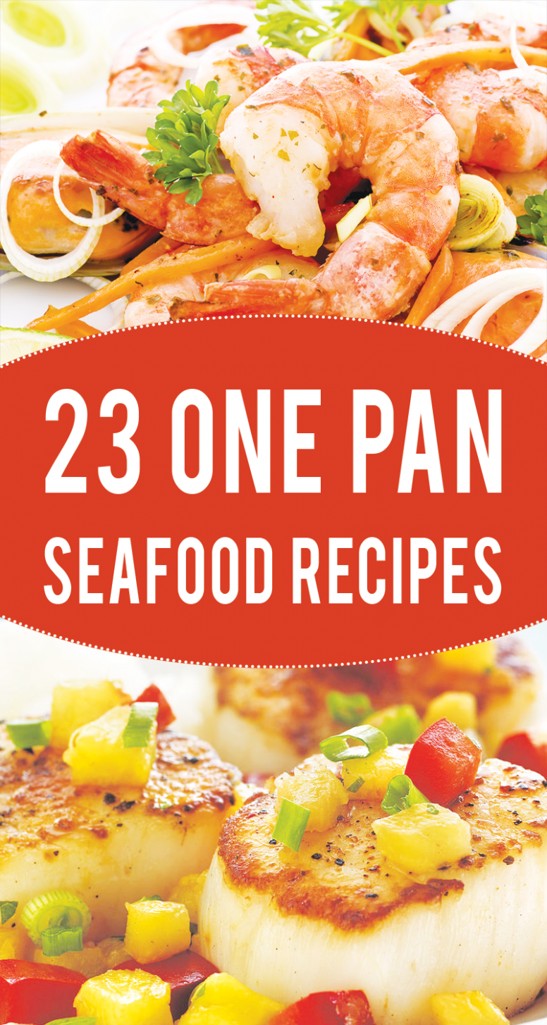 23 One-Pan Healthy Seafood Recipes to Try Right Now ...