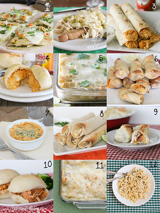 24 Ways to Use Shredded Chicken - Taste and Tell