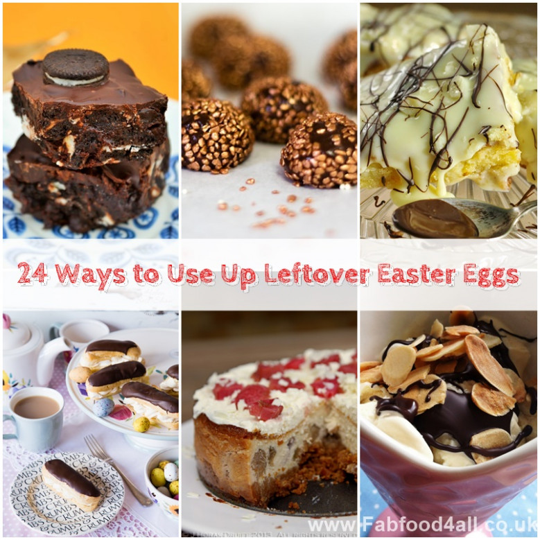 24 Ways to Use Up Leftover Easter Eggs - Fab Food 4 All