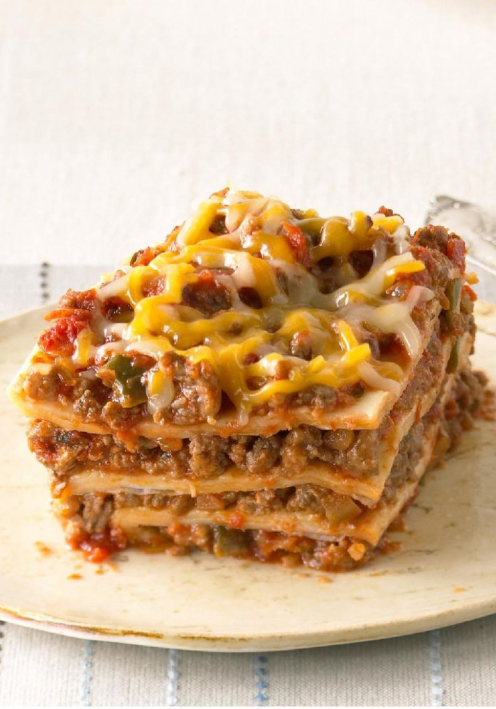 25+ bästa Mexican lasagna with tortillas idéerna på Pinterest