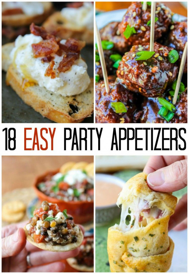 25+ best ideas about Easy appetizers for parties on ...