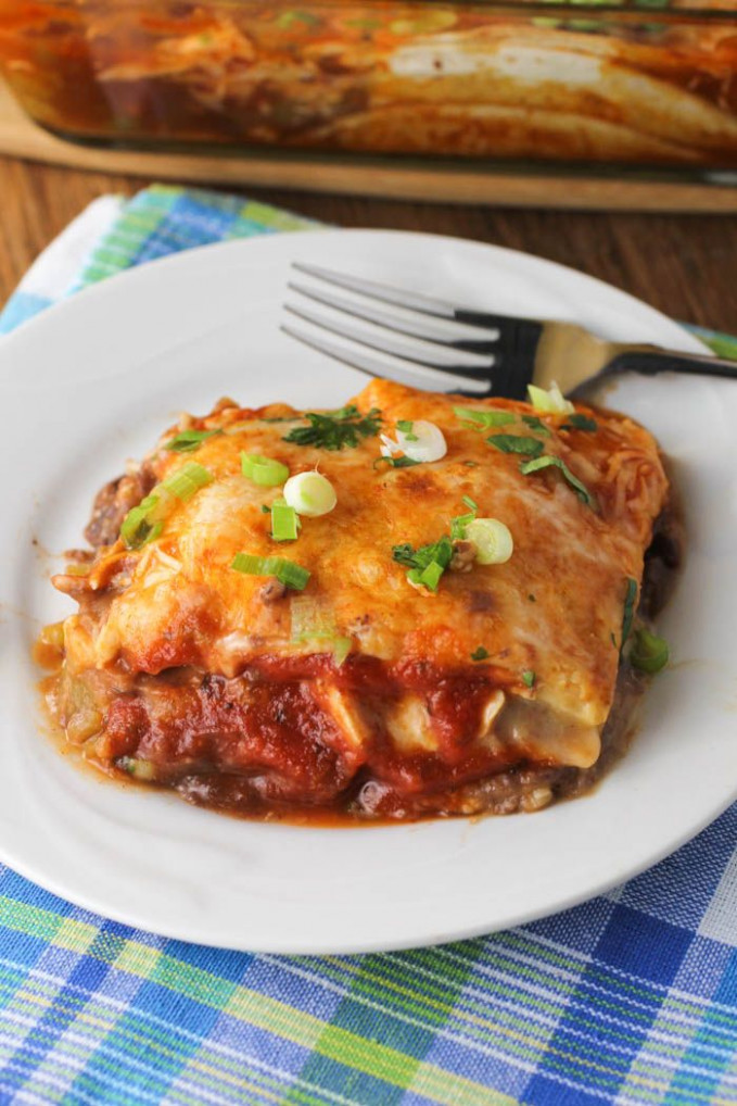 25+ best ideas about Easy chicken enchilada casserole on ...