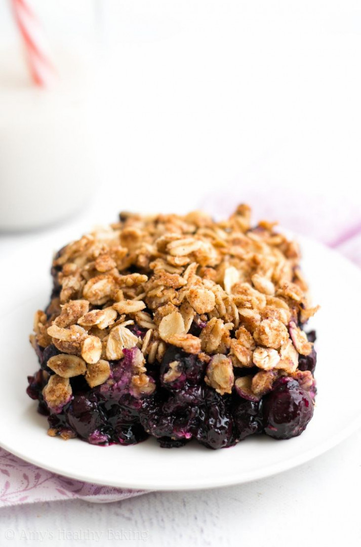 25+ best ideas about Healthy Blueberry Desserts on ...