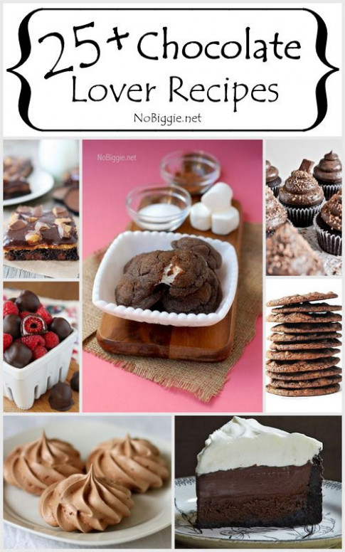 25+ Chocolate Lover Recipes | Chocolate lovers, Recipe and ...