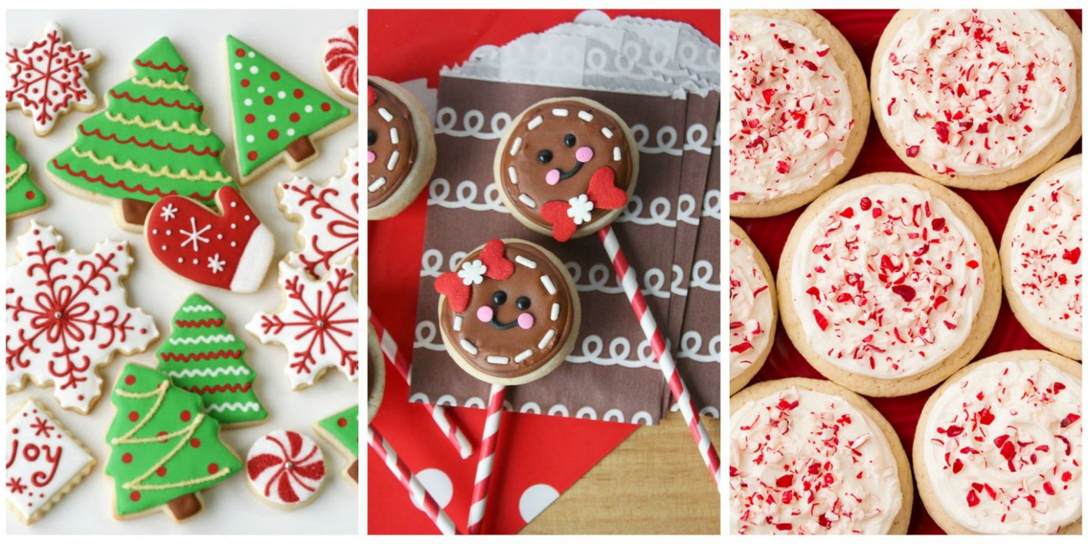 25+ Easy Christmas Sugar Cookies - Recipes & Decorating ...